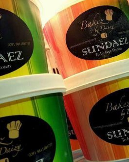 Sundaez (Ice Cream tubs)