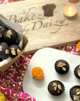 Roasted Almond and Walnut Truffles